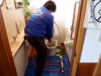 トイレ・キッチン等排水の詰まり抜き