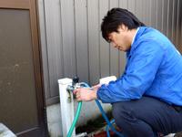 水漏れの修理・パッキンの交換